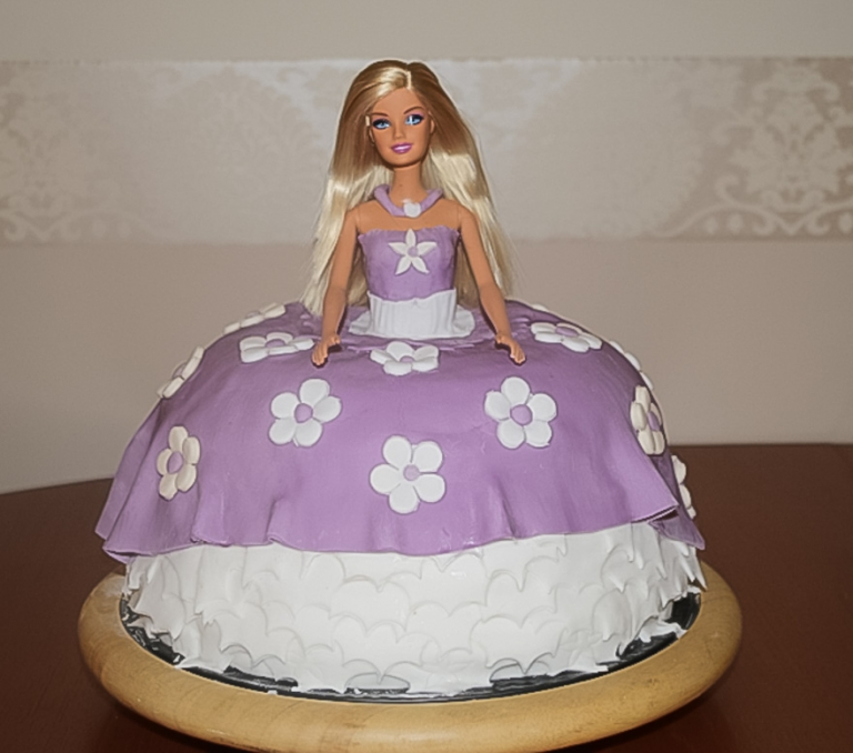 Dee's Barbie Cake