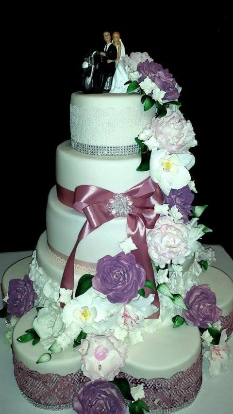 Esküvői Torta - Bitóné, Szilvi